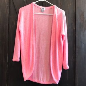 Pink Old Navy cardigan size 8